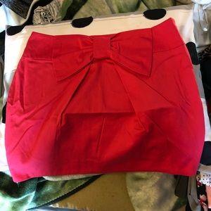 ASOS bow skirt